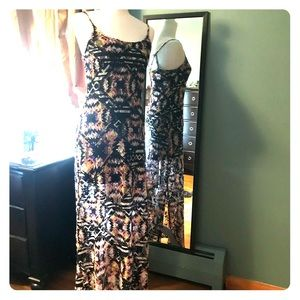 Dresses & Skirts - Multi colored maxi summer dress